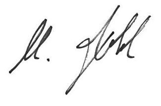 Unterschrift Robl